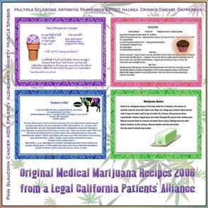 Medical Cannabis Recipes 12x12