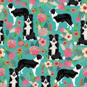 border collie florals fabric cute border collie design best border collies fabrics cute border collies designs
