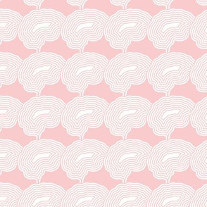 Concentric Brains | Provincial Pink