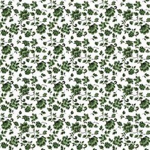 Fleurs de Provence ~ Tangling Green ~ Small