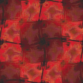 Floral Brush (Red)