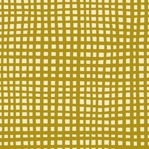 Ugly Grid - Mustard