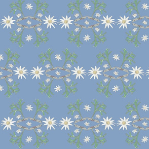 Flannel_Flower#2 -Blue_Mid