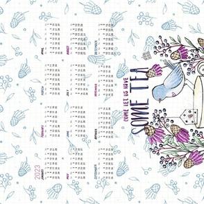 2020 Calendar: Tea With Friends - © Lucinda Wei