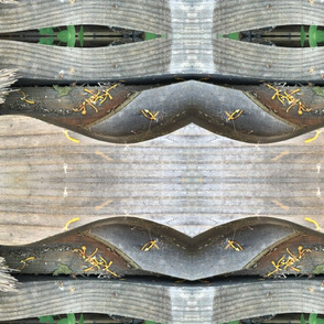 garden wood stripe 1