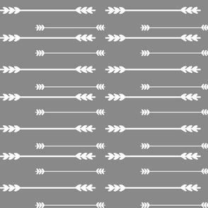 Charcoal Grey Arrows