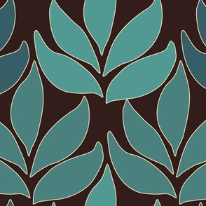 Cloisonne-LG-leaf-texture-greens-2-DARKBROWN