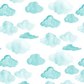 Aqua Clouds