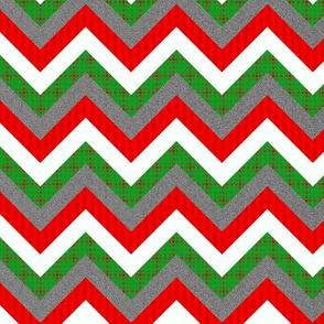 Christmas Chevron Pattern