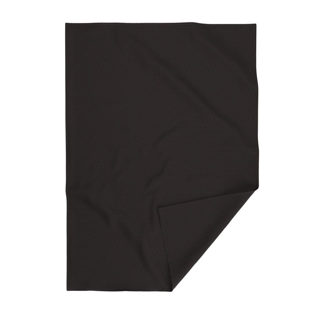 Lakenvelder Throw Blanket featuring Colette's Black and Bronze Animal Print by colettegorgas