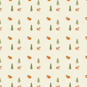 Foxes in the Forest