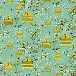 Honey Comb Hives