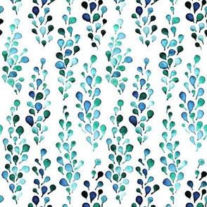 turquoise foliage