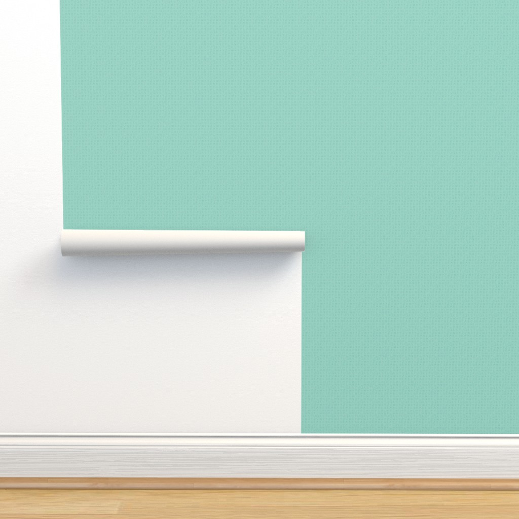 Isobar Durable Wallpaper featuring Pencil alphabet - oolong aqua by mongiesama