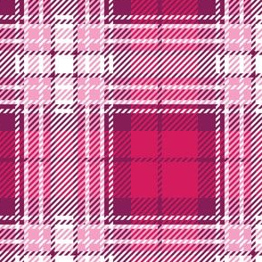Large Pink Plaid