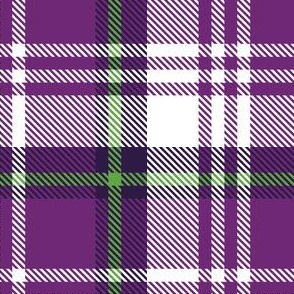 Medium Purple Plaid