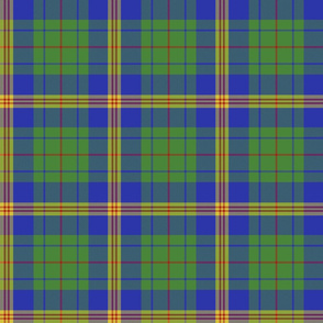 """New Mexico official tartan - 6"""" bright colors"""