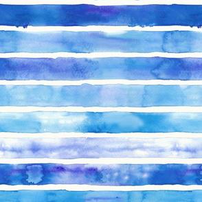 Big Stripes Blue and Purple
