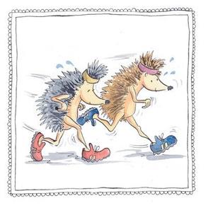 hedgehog running