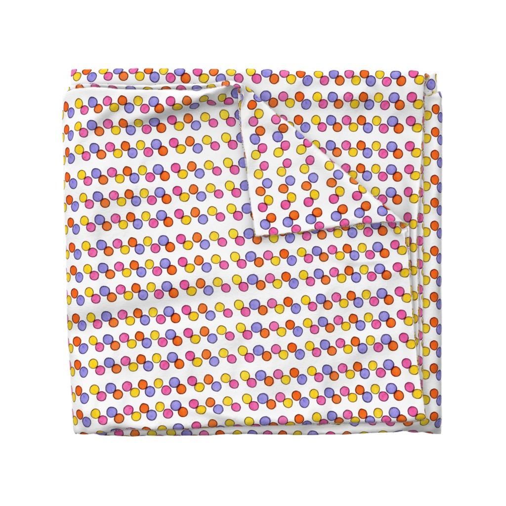 Wyandotte Duvet Cover featuring Gumball Stripe by designergal