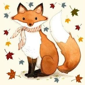 Dapper Autumn Fox