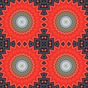 African Art Kaleidoscope