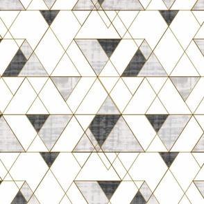 Mod Triangles BW