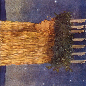 St. Lucia Night; John Bauer