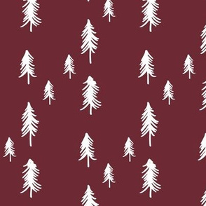 Oh Christmas Tree - plum