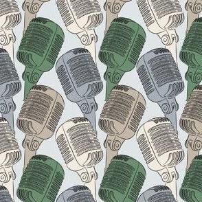 Microphones green