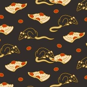 Pizza Rat LG [Black]
