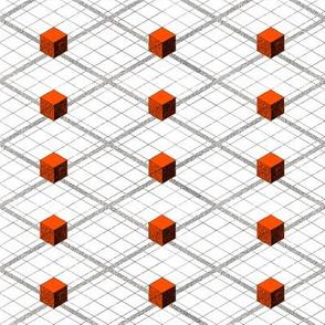 Totem Cubes Argyle - Fire