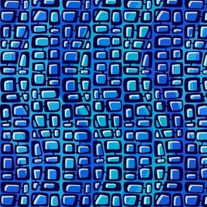 Mod Century Tiki Bricks wave 001