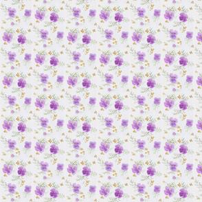Watercolour Lilacs