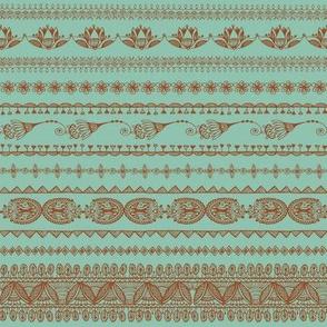 Moroccan Lace_Dark Mint