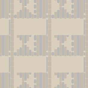 Beige Sand Tribal Pattern