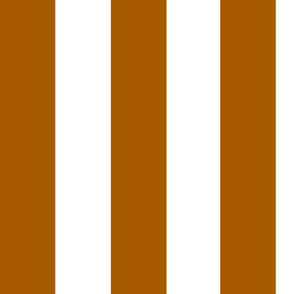 vertical stripes - rusty orange || by sunny afternoon