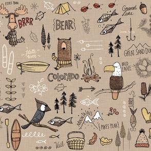 Colorado  - brown