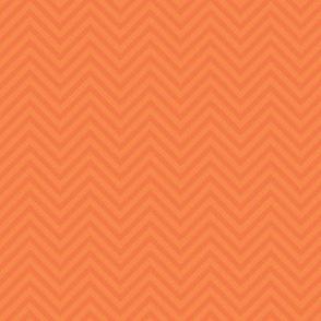 Chevron in Fall Orange