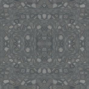 Charcoal Pebble Mosaic