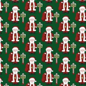 Santa and the North Pole