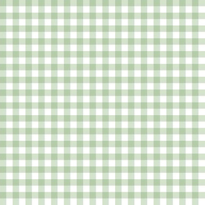 Unconditionally-Green Gingham