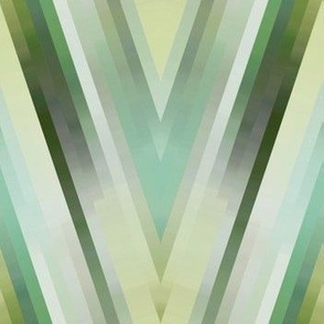 Glass Blades - emerald