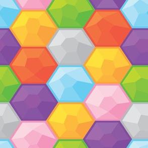 Diamond puzzle game