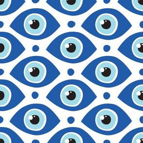 All eyes on me blue