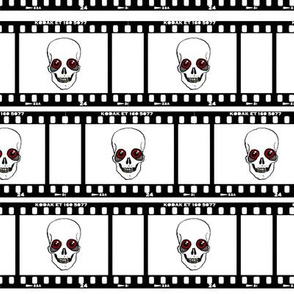 Skull Film Strip