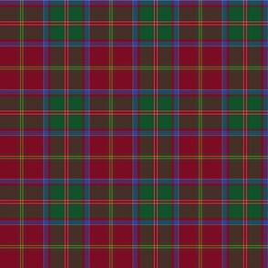 "MacDonald of Glencoe tartan , 6"" dark"