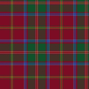 "MacDonald of Glencoe tartan,  10"" dark"