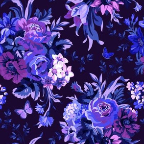 Blue Velvet - Dark Purple