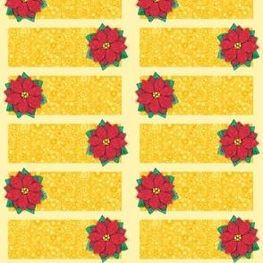 Bubbly Poinsettia Cards